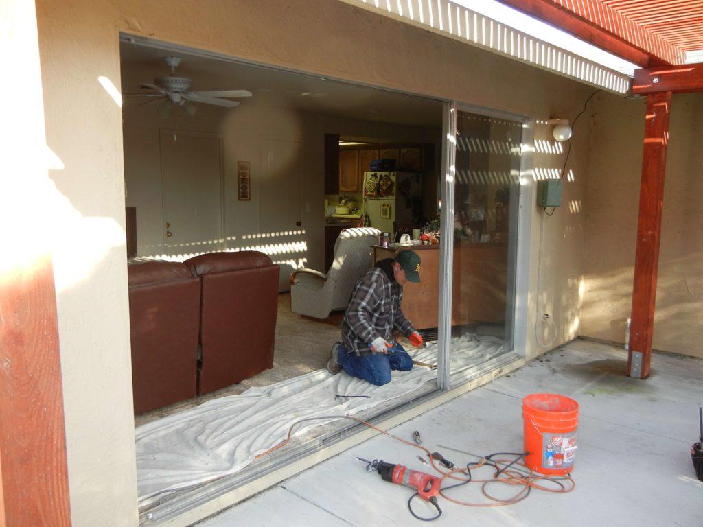 Amerimax New Horizon Retrofit Patio Door With Pet Door Rm Middle Before  Stokkelandfo Choice Image
