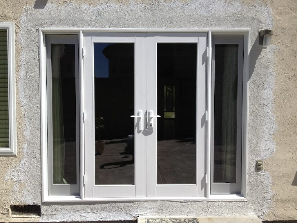 Milgard doors fiberglass milgard doors san diego for French doors with sidelights